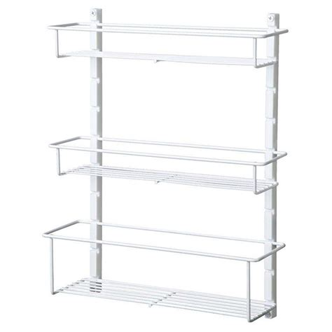 Closetmaid Door Storage Rack - closetmaid spice rack 73996 the home depot