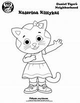 Coloring Neighborhood Pages Daniel Printable Tiger Getdrawings sketch template