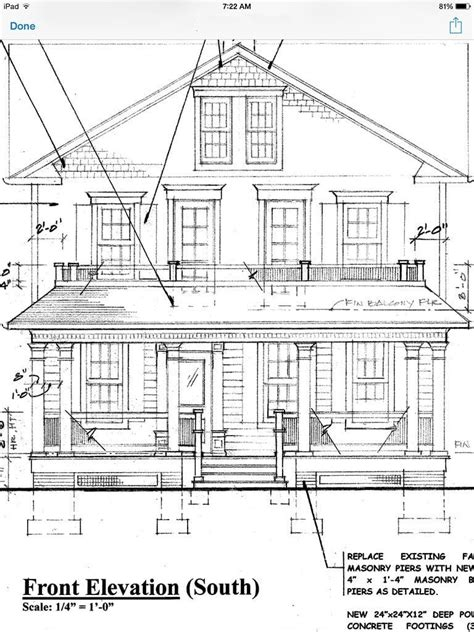 architectural drawing  paint color oldhouseguy blog