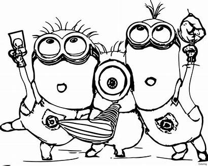 Coloring Minion Cutest Forkids Brighten Let Them