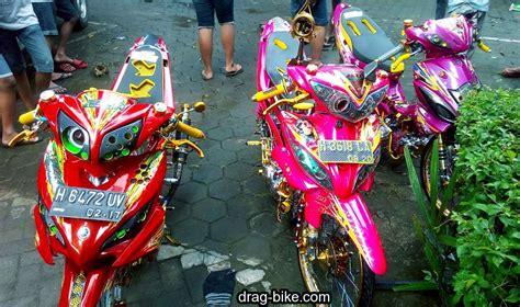 Jupiter Z Modifikasi Warna Merah by 40 Foto Gambar Modifikasi Jupiter Z Kontes Racing Look