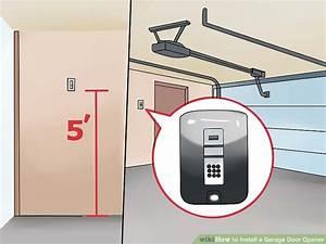 How To Install A Garage Door Opener  With Pictures