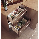 ZIDS240HSS   GE Monogram Double Drawer Refrigerator Module