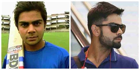 virat kohli hairstyle  beard styles  raised