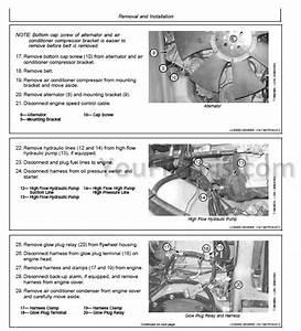 John Deere 317 320 Ct322 Repair Manual  Skid Steer