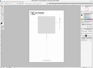 passport template for kids With passport photo print template