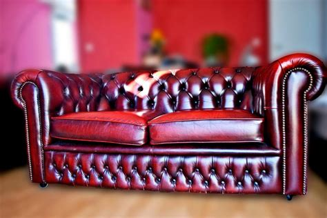 canapé chesterfield cuir occasion photos canapé anglais chesterfield occasion