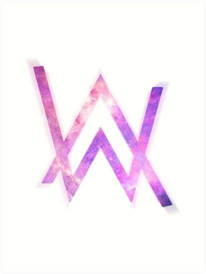 Láminas Artísticas «alan Walker Logo» De Taplome Redbubble