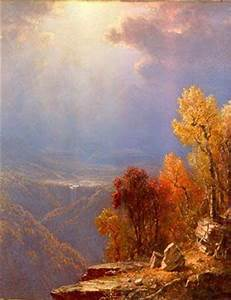 Autumn in the Catskills. This image is a painting by ...