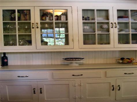 Kitchen Gray Built In China Cabinet Pictures, Decorations