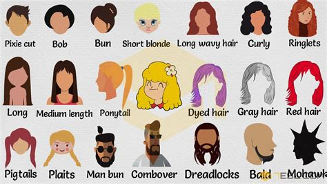 hairstyle names types  haircuts   pictures