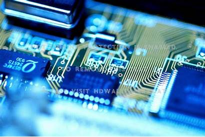 Circuit Electronics Resistors Board