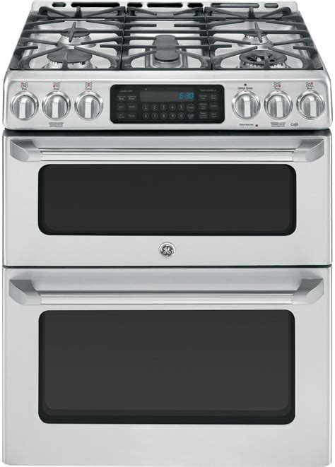 GE CGS990SETSS 30 Inch Slide In Café? Series Double Oven