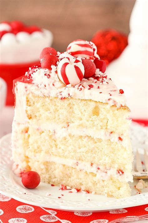 peppermint chip layer cake life love  sugar