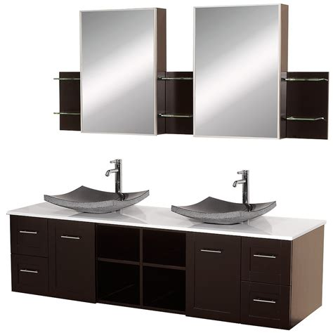 avara   wall mount double vanity wyndham collection