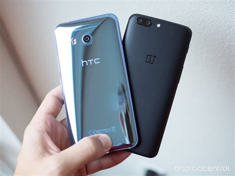 htc one 11 oneplus 5 vs htc u11 more money more quality android central