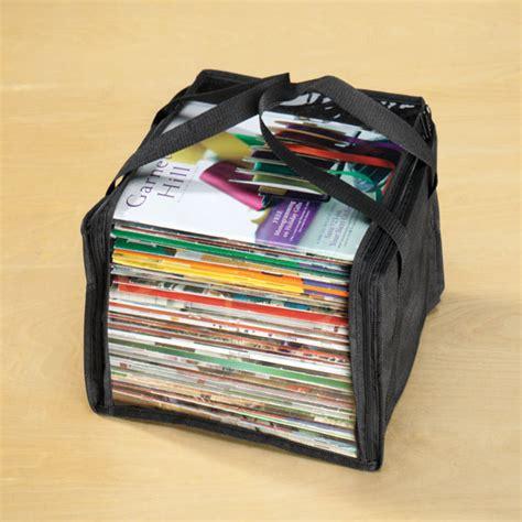 kitchen collection magazine magazine storage bags plastic magazine storage walter