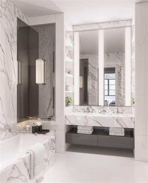 Marble Bathroom Ideas by Best 25 Marble Bathrooms Ideas On Carrara