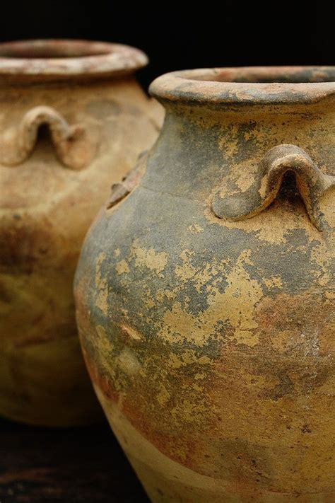 containers love  aged terracotta pots containers