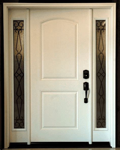 advantages  exterior fiberglass doors
