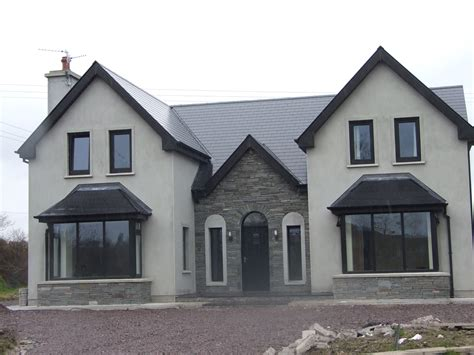 Bedroom Paint Ideas Ireland almost finished new storey and a half residence in kerry