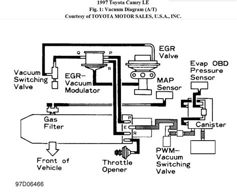 2002 Toyotum Tundra 6 Cyl Wiring Diagram by 1997 Toyota Camry Engine Diagram Automotive Parts