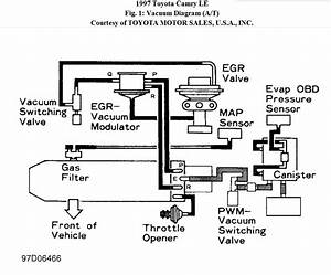 1997 Toyota Camry Engine Diagram
