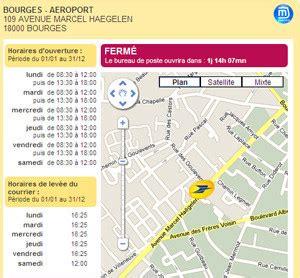 bureau de poste bourges l 39 info du les horaires de votre bureau de poste