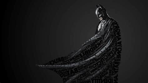 batman artwork dc comics quote typographic portraits