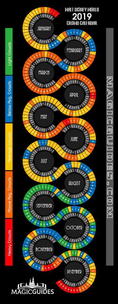 disney world crowd calendar   updated tracker