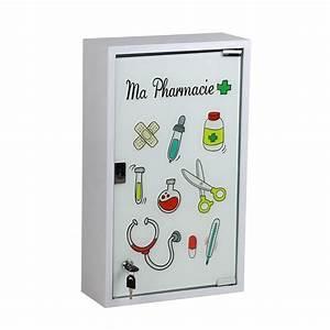 Armoire à Pharmacie Murale : armoire pharmacie blanc cm ma pharmacie leroy ~ Dailycaller-alerts.com Idées de Décoration