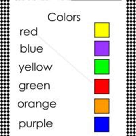 match  color  word