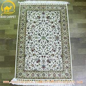 25x4ft vert couleur en soie iranienne tapis et tapis a la With tapis caucasiens prix