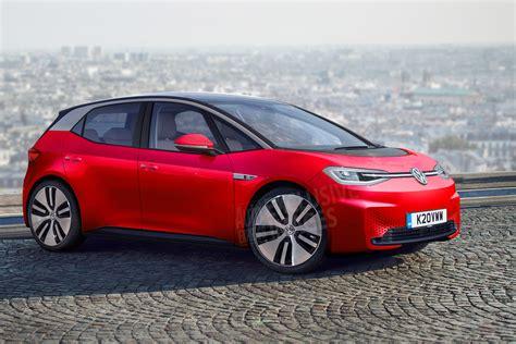 vw id hatch order books  vw electric car open