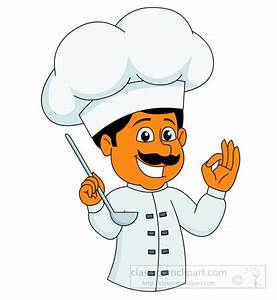 Culinary : chef-cooking-and-tasting-food-with-happy-face ...