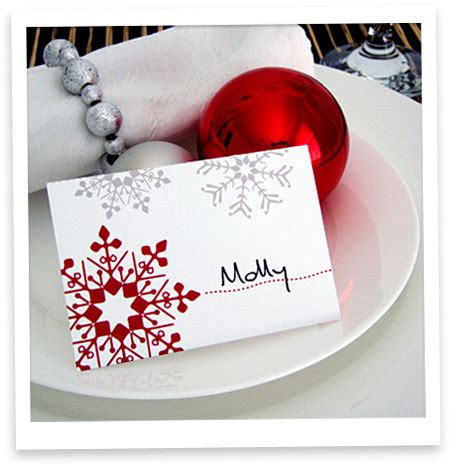 Place Card Templates Freechristmas Template 7 Best Images Of Place Cards Template Dinner