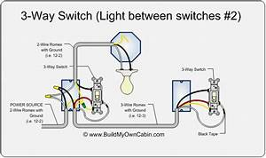 Wiring Diagram For 3 Way Switch And 1 Light