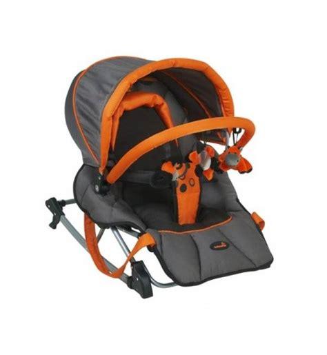 babymoov transat compact complet noir orange