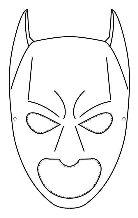disegni da colorare batman e 60 batman maschera da colorare con disegni stare e