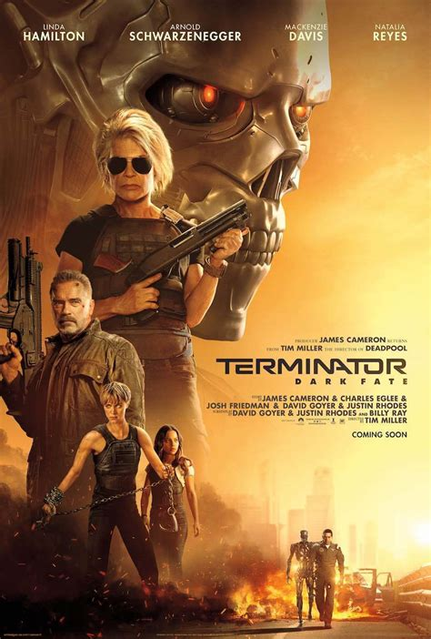 terminator dark fate   poster  trailer seenit