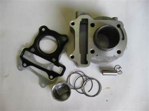 Cylinder Kit For 139qmb Engine  47mm