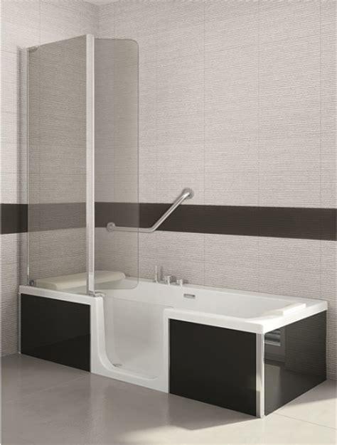 duschbadewanne mit tür sfa saniduo badewannen mit t 252 r 180x80cm g 220 nstiges bad