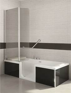Badewannen Mit Tür : sfa saniduo badewannen mit t r 180x80cm g nstiges bad ~ Orissabook.com Haus und Dekorationen