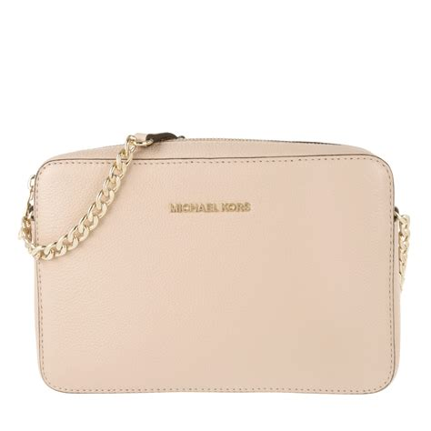 michael kors designers luxury michael kors bedford lg ew crossbody leather oyster beige