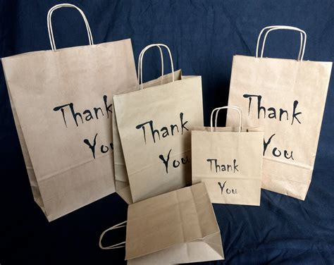 paper printed carrier bags eco gift wedding christmas