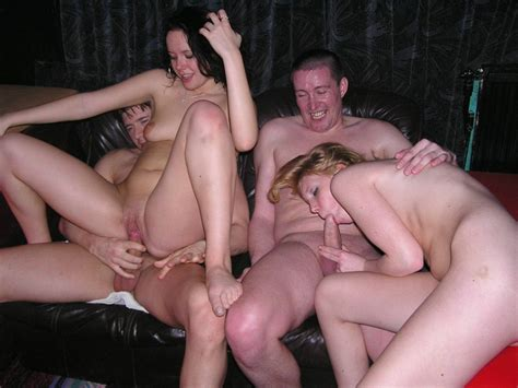 Homemade Swinger Porn Swapped Wives Getting Group Fucked