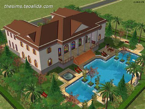 palace micul trianon  floresti romania  sims