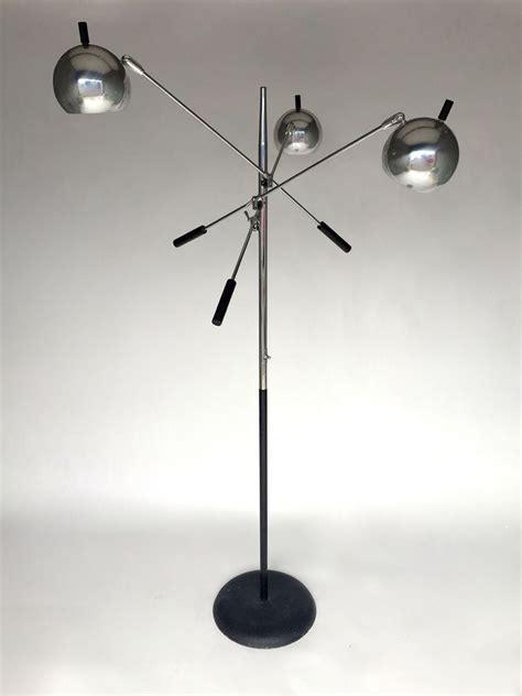 Arredo Luce by Details About Vintage Mid Century 3 Arm Floor Chrome