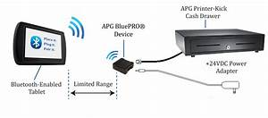Apg Cash Drawer Releases Bluepro U00ae Bluetooth Device