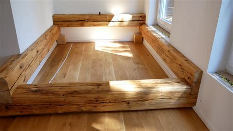Günstig Bett Selber Bauen balkenbett bett selber bauen made by myself dein diy